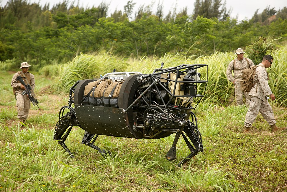 Marines experiment with military robotics RIMPAC 2014