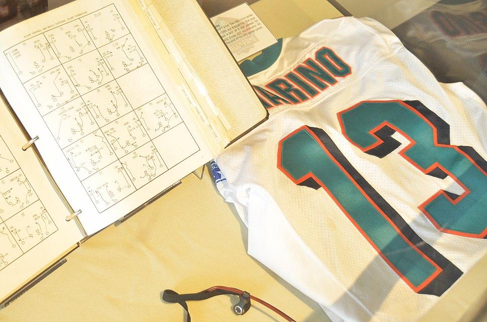 Marino HOF jersey