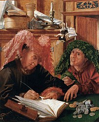 Marinus van Reymerswaele: The Tax Collectors