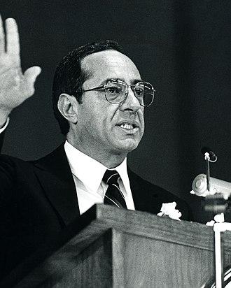Mario Cuomo - Image: Mario Cuomo NY Governor 1987