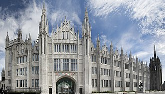 University of Aberdeen - Marischal College (following restoration in 2011)