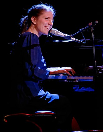 Markéta Irglová - Irglová performing in 2014