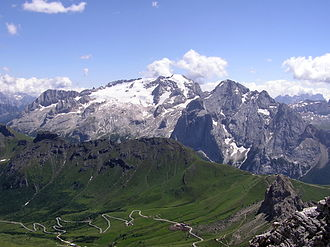 Marmolada - July 2004