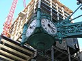 Marshall Field and Co. clock at State St..JPG