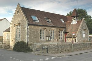 Marston, Oxford - St Nicholas' church hall, formerly the parish school.