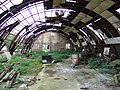Marsworth Airfield (3) - Inside old Nissen Hut - geograph.org.uk - 1407444.jpg