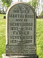 Martha Wood tombstone, 2015-05-08, Allegheny Cemetery, 01.jpg