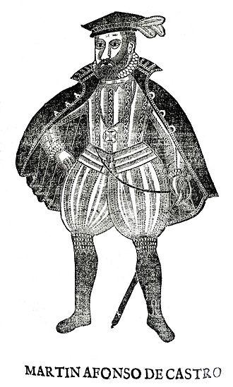 Battle of Cape Rachado - Portuguese Viceroy Martim Afonso de Castro