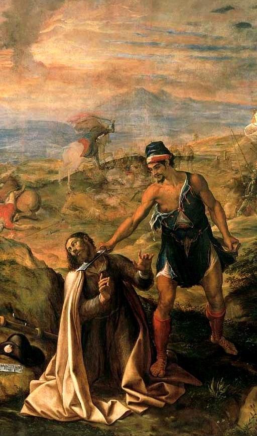 Martirio de Santiago (Navarrete el Mudo)