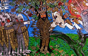 Brian Whelan - The Martyrdom of St Edmund by Brian Whelan