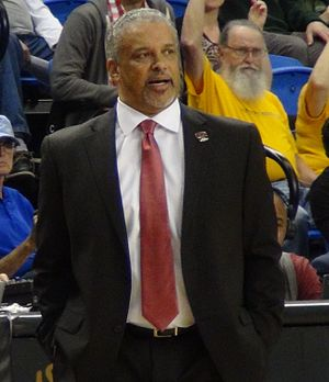 Marvin Menzies - Menzies in 2017 as UNLV head coach.