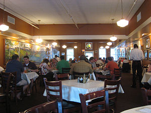 Mary Mac's Tea Room - Interior of Mary Mac's Tea Room