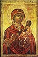 Mary Odigitria Icon from the Rozhen Monastery Church 17 Century.jpg
