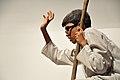 Matir Pare Thekai Matha - Science Drama - Apeejay School - BITM - Kolkata 2015-07-22 0723.JPG