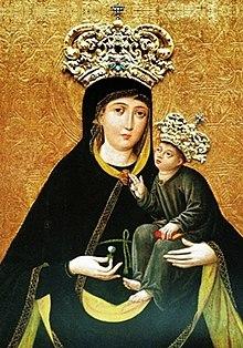 Znalezione obrazy dla zapytania matka boża od wykupu niewolników