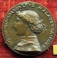 Matteo de' pasti, medaglia di sigismondo pandolfo malatesta col tempio malatestiano, recto 1450.JPG