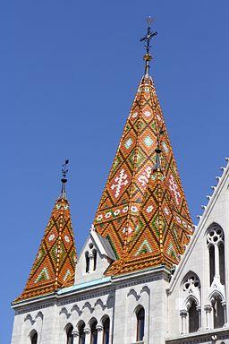 Matthias Church Budapest Roof Tiles