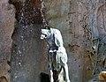 Matthias Fountain, dog, 2012 Budapest, Hungary (10256924393).jpg