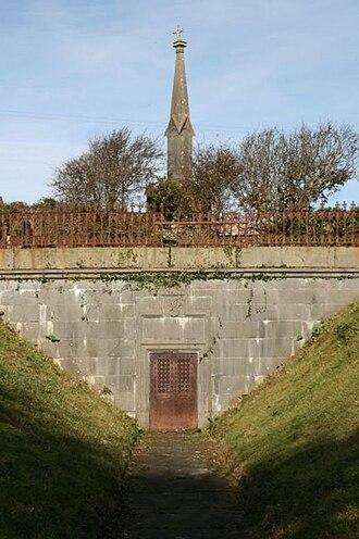 Cornelius O'Brien (County Clare) - The O'Brien vault