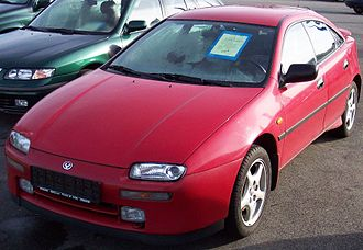 Eunos (automobile) - Image: Mazda 323 II V6 Red