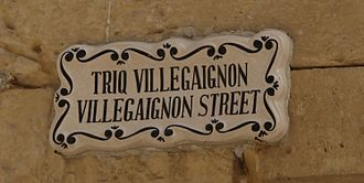 Nicolas Durand de Villegaignon - A street in Mdina named after Villegaignon.