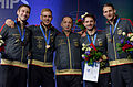 Medal ceremony 2015 WCh SMS-EQ t204543.jpg