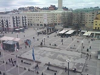 Medborgarplatsen - Most of Medborgarplatsen