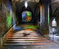 Medieval staircase in Citta di Castello.jpg
