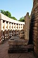 Meditating Buddha - West Side - North Gateway - Stupa 1 - Sanchi Hill 2013-02-21 4455.JPG