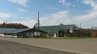 Meigs County Fairgrounds - Buildings at the fairgrounds