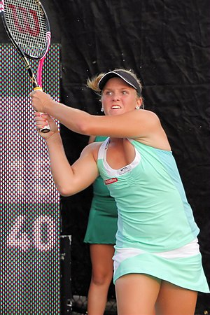 Melanie Oudin - Oudin at the 2011 Texas Tennis Open