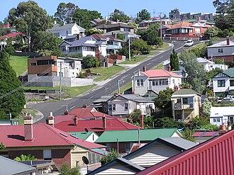 West Hobart, Tasmania - Mellifont Street
