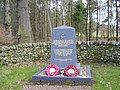 Memorial Stone near Cleughead - geograph.org.uk - 757030.jpg