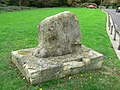 Memorial stone, Station Road, Chiseldon, Swindon - geograph.org.uk - 602345.jpg