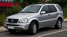 Mercedes-Benz ML 270 CDI (W 163, Facelift) – Frontansicht, 25. August 2013, Düsseldorf.jpg