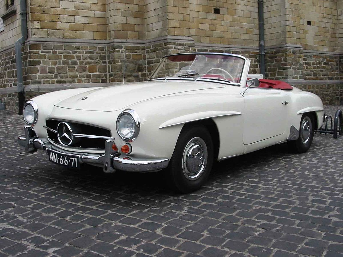 mercedes benz 190 sl wikipedia la enciclopedia libre. Black Bedroom Furniture Sets. Home Design Ideas