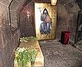 Mesrop Mashtots' grave stone.jpg