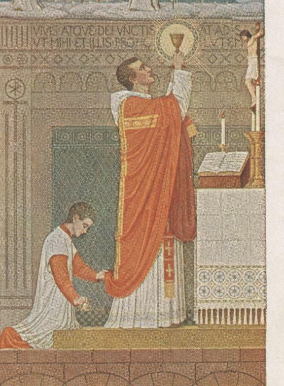 Messe mit Wandlungskerze Beuron