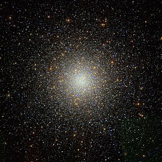 Messier 53 globular cluster in the constellation Coma Berenices