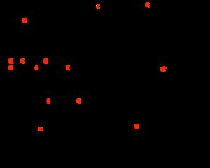 Methylation - Cycle for methanogenesis, showing intermediates.