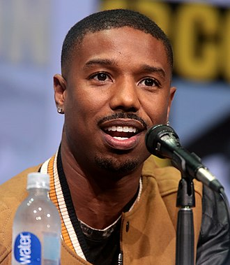 Michael B. Jordan - Jordan at the 2017 San Diego Comic-Con