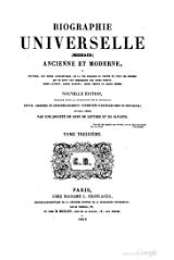 Michaud - Biographie universelle ancienne et moderne - 1843 - Tome 13.djvu