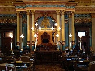 Michigan Senate - Image: Michigan Senate