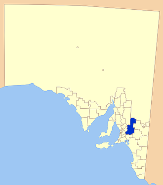 Mid Murray Council - Location of the Mid Murray Council in SA