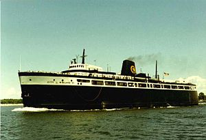 SS City of Midland 41 - Midland41-Outbound Ludington-1976
