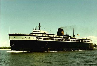 SS City of Midland 41 - Midland41-Outbound Ludington-1976