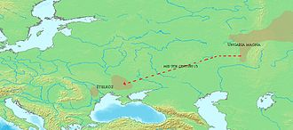 Hungarian prehistory - Migration of Hungarians