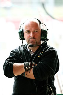 Mike Gascoyne British Formula One designer