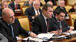 Mikhail Mishustin and Oleg Savelyev 30 May 2013.jpg