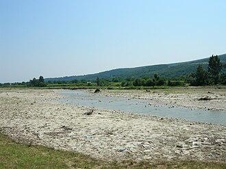 Vrancea County - Hills near the Milcov River, which divides Moldavia from Muntenia.
